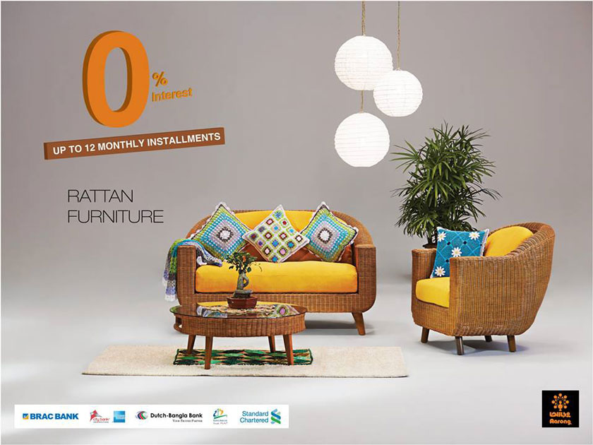 Elegant Aarong Rattan Furniture Communication 2