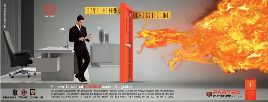 Partex Fire Door - Ads of Bangladesh